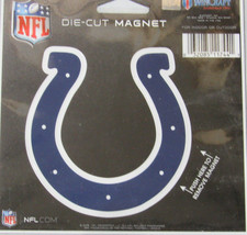 NFL NIB 4 INCH AUTO MAGNET - INDIANAPOLIS COLTS - LOGO - €8,45 EUR