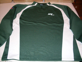 NWT REEBOK NFL PULLOVER SHIRT - NEW YORK JETS - LARGE - €29,68 EUR