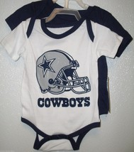 NFL NWT DALLAS COWBOYS 2-PACK TOMKINS DESIGN SET - NAVY/WHITE 24 MONTHS - €21,19 EUR