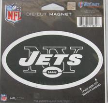 NFL NIB 4 INCH AUTO MAGNET - NEW YORK JETS - LOGO - €8,83 EUR