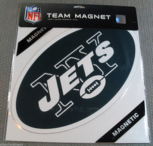 NFL NIB 12 INCH AUTO MAGNET - NEW YORK JETS LOGO - $344,82 MXN
