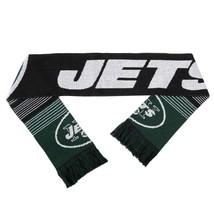 "Nwt Nfl 2015 Reversible Split Logo Scarf 64"" By 7"" - New York Jets - $22.95"