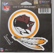 NFL NIB 4 INCH AUTO MAGNET - WASHINGTON REDSKINS - LOGO - €8,83 EUR