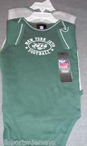 Nfl Nwt Infant ONESIE-SET Of 2- New York Jets 24M - $21.95