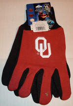 Ncaa Nwt No Slip Utility Work GLOVES- Oklahoma - $7.95
