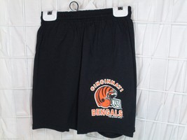 NEW NFL YOUTH LOGO SCREEN PRINTED SHORTS - CINCINNATI BENGALS - LARGE - €20,37 EUR
