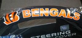 NFL NIB MESH STEERING WHEEL COVER - CINCINNATI BENGALS - $19.99