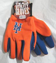 Mlb Nwt Team Color No Slip Palm Utility Gloves - New York Mets - $7.99