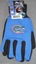 Ncaa Nwt No Slip Utility Work Gloves - Florida Gators - $7.95