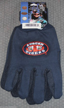 Ncaa Nwt No Slip Utility Work Gloves Adult One Size - Auburn Tigers - $7.95