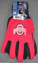 Ncaa Nwt No Slip Utility Work Gloves - Ohio State Buckeyes - $7.95