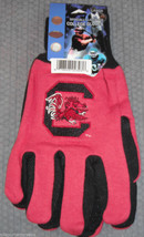 Ncaa Nwt No Slip Utility Work Gloves - South Carolina Gamecocks - $7.95
