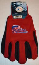 Mlb Nwt No Slip Utility Work Gloves Work Logo - Philadelphia Phillies - $7.95