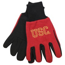 Ncaa Nwt No Slip Utility Work Gloves Mc Aurther - Usc Trojans - $9.99