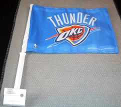 NBA NWT CAR WINDOW FLAG - OKLAHOMA CITY THUNDER - $12.95