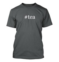 #tea - Hashtag Men's Adult Short Sleeve T-Shirt  - $24.97
