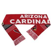 "Nwt Nfl 2015 Reversible Split Logo Scarf 64"" By 7"" - Arizona Cardinals - $21.95"