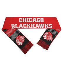 """NWT NHL 2015 REVERSIBLE SPLIT LOGO SCARF 64"""" by 7"""" - CHICAGO BLACKHAWKS - $25.95"""