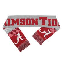 "Nwt Ncaa 2015 Reversible Split Logo Scarf 64"" By 7"" - Alabama Crimson Tide - $24.95"