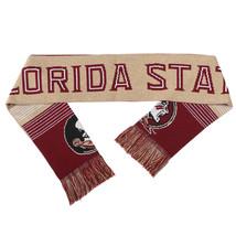 "Nwt Ncaa 2015 Reversible Split Logo Scarf 64"" By 7"" - Florida State Seminoles - $24.95"
