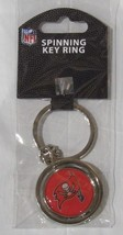 NFL NIB SPINNING LOGO KEY CHAIN - TAMPA BAY BUCCANEERS-RED - €8,45 EUR