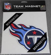 NFL NIB 8 INCH TEAM AUTO HOME MAGNET - TENNESSEE TITANS FLAMES - €8,83 EUR