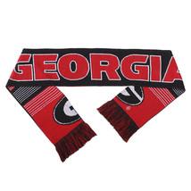 "Nwt Ncaa 2015 Reversible Split Logo Scarf 64"" By 7"" - Georgia Bulldogs - $24.95"