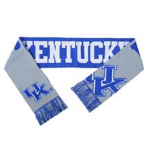 "Nwt Ncaa 2015 Reversible Split Logo Scarf 64"" By 7"" - Kentucky Wildcats - $25.99"