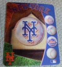"NEW MLB 4""X5"" SHIFTING 3D MAGNET -  NEW YORK METS - $6.95"