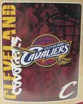 Nba Nib 50x60 Rolled Fleece Blanket - Hard Knocks - Cleveland Cavaliers - $21.75