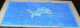 NFL NWT 15x25 SPORTS FAN TOWEL- DETROIT LIONS - €15,24 EUR