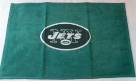 Nfl Nwt 15x25 Sports Fan TOWEL- New York Jets - Lg Logo - $17.99