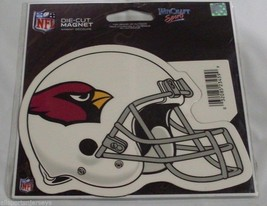 NFL NIB 4 INCH AUTO MAGNET - ARIZONA CARDINALS - HELMET - $9.95
