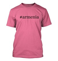 #armenia - Hashtag Men's Adult Short Sleeve T-Shirt  - $24.97