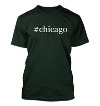 #chicago - Hashtag Men's Adult Short Sleeve T-Shirt  - $24.97