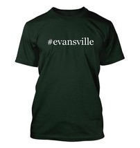 #evansville - Hashtag Men's Adult Short Sleeve T-Shirt  - $24.97
