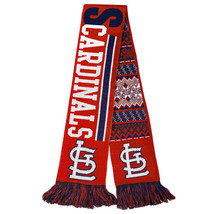 """Nwt Mlb 2015 Reversible Ugly Sweater Scarf 64"""" By 7"""" - St. Louis Cardinals - $21.99"""
