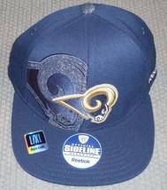 NWT NFL REEBOK 2011 SIDELINE HAT L/XL - ST. LOUIS RAMS - $22.75