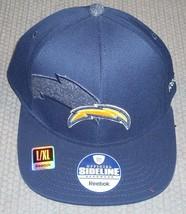 NWT NFL REEBOK 2011 SIDELINE HAT L/XL - SAN DIEGO CHARGERS - $19.95
