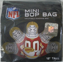 NFL NIB 12 INCH MINI BOP BAG - SAN FRANCISCO 49ERS - $15.40