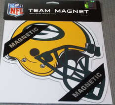 NFL NIB 8 INCH AUTO MAGNET - GREEN BAY PACKERS - €8,81 EUR