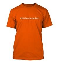 #frisbeetarianism - Hashtag Men's Adult Short Sleeve T-Shirt  - $24.97
