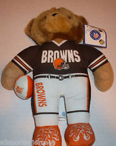NFL NWT PLUSH TEDDY BEAR - CLEVELAND BROWNS - €11,84 EUR