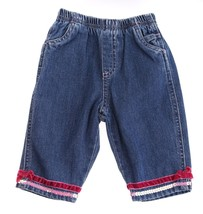 The Childerns Place Blue Denim Pants Cotton Jeans 3-6 mos - $4.94