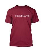 #nerddowell - Hashtag Men's Adult Short Sleeve T-Shirt  - $24.97