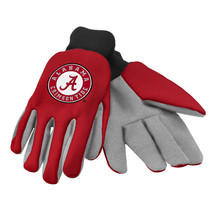 Ncaa Nwt Team Color No Slip Palm Utility Gloves - Alabama Crimson Tide - $10.25