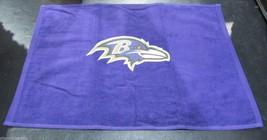 Nfl Nwt 15x25 Sports Purple Fan TOWEL- Baltimore Ravens - Logo Only - $16.99