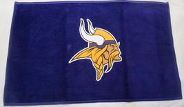 Nfl Nwt 15x25 Sports Purple Fan TOWEL- Minnesota Vikings - Logo Only - $15.95