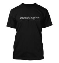 #washington - Hashtag Men's Adult Short Sleeve T-Shirt  - $24.97