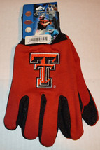 Ncaa Nwt No Slip Utility Work GLOVES- Texas Tech - $7.95